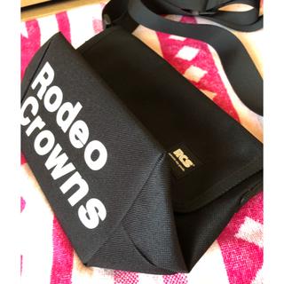 ロデオクラウンズワイドボウル(RODEO CROWNS WIDE BOWL)のロデオクラウンズ✩Web限定✩ショルダーバッグ✩メッセンジャーバッグ✩美品♡♡(ショルダーバッグ)