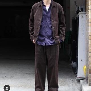 ジョンローレンスサリバン(JOHN LAWRENCE SULLIVAN)のlittle big open callor sh オープンカラーシャツ(シャツ)