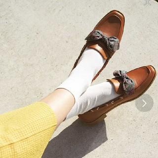 オリエンタルトラフィック(ORiental TRaffic)の春夏新作★バンダナリボンローファー(ローファー/革靴)