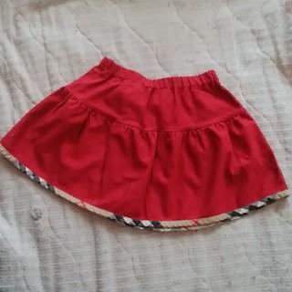 バーバリー(BURBERRY)のBURBERY LONDON スカート 赤 80(スカート)