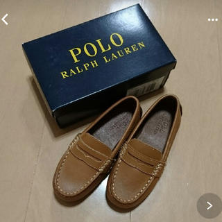 ラルフローレン(Ralph Lauren)の着用一度☆ラルフローレンローファー革靴16くらい(ローファー)