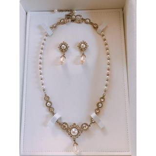 サマンサティアラ(Samantha Tiara)の【ウェディング】ネックレスとイヤリングのセット(その他)