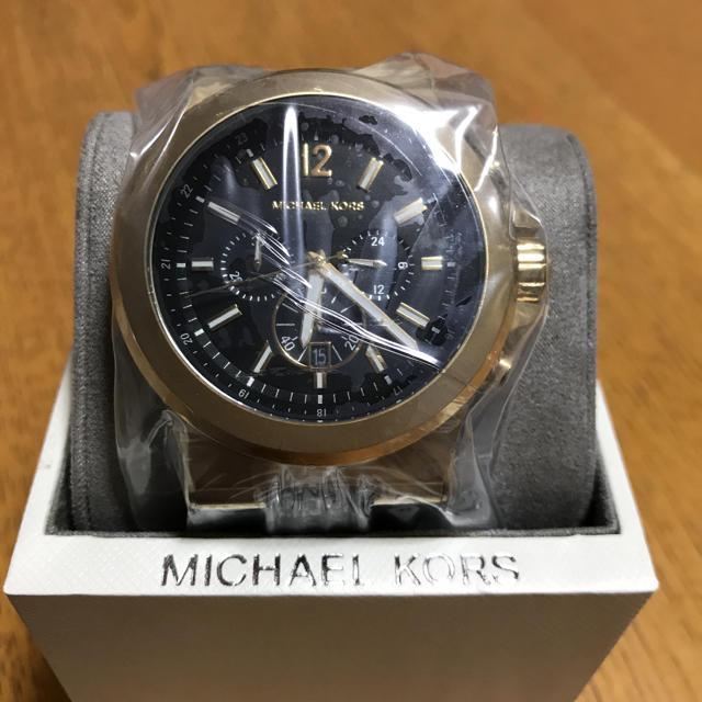 Michael Kors - MICHAEL KORS 時計 正規品 ゴールドブラックの通販 by アーちゃん|マイケルコースならラクマ