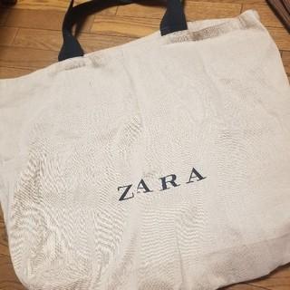 ザラ(ZARA)のZARA ショッピングバッグ(エコバッグ)