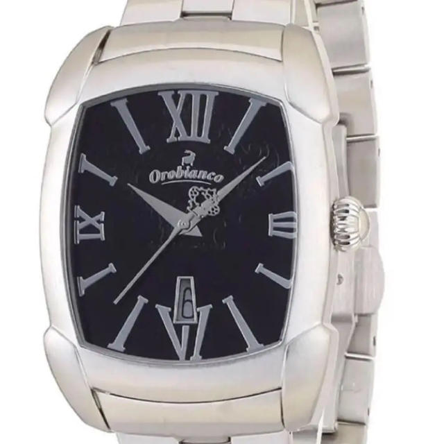 クロノマットエボリューション 中古 、 Orobianco - Orobianco  レッタンゴラ  メンズ腕時計の通販 by m's shop|オロビアンコならラクマ
