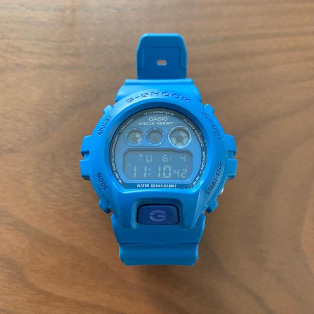 ロレックス マスター - G-SHOCK - G-SHOCK CASIO Crazy Colors ブルーの通販 by エネゴリ's shop|ジーショックならラクマ