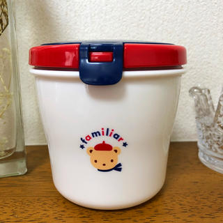 ファミリア(familiar)のお値下げ♪ファミリア☆離乳食ケース お弁当・familiar(離乳食器セット)