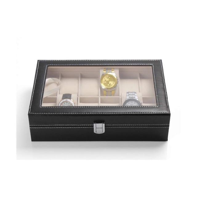 ロレックス スーパー コピー 比較 - 腕時計収納ケース 12本用 ウォッチコレクションケースの通販 by flesh★green's shop|ラクマ