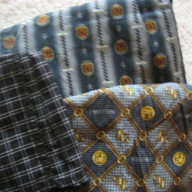 しまむら(シマムラ)のトランクス 新品3枚セット  綿100% メンズのアンダーウェア(トランクス)の商品写真