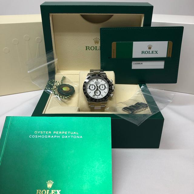 ブランパン 時計 コピー a級品 / ROLEX - デイトナ 116500LN 白 ロレックス 美品 国内正規の通販 by ルル's shop|ロレックスならラクマ