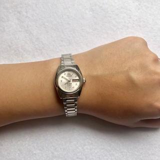 オリエント(ORIENT)の【たけなみ工房様専用】ORIENT 腕時計 スリースター ピンク(腕時計)