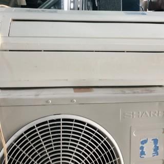SHARP - SHARP R410エアコン 6畳〜10畳 良く冷えます(*^^*)