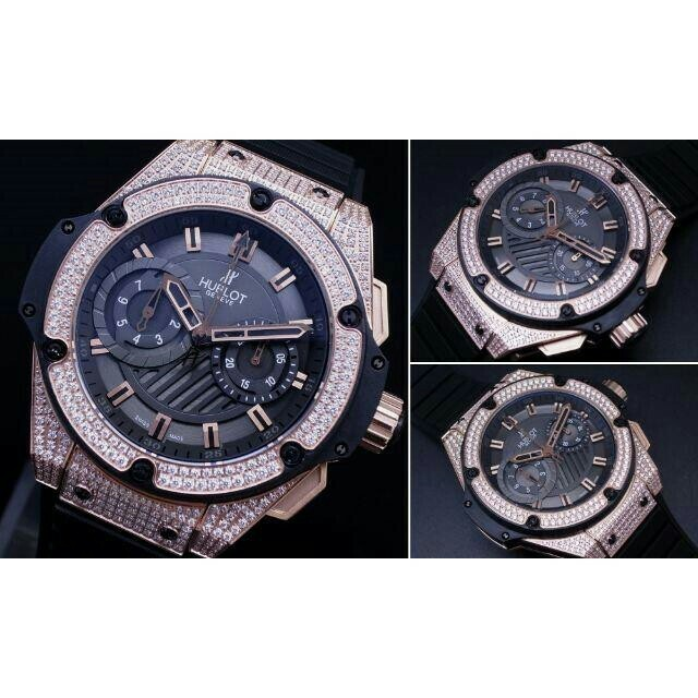 ブランド 腕時計 スーパーコピー 代引き 口コミ / HUBLOT - V6製 キングパワー 48mm GOLD ダイヤ 自動巻の通販 by nlakf153a's shop|ウブロならラクマ
