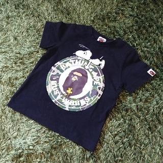 アベイシングエイプ(A BATHING APE)のエイプ  BAPE KIDS  A BATHING APE Tシャツ 100 (Tシャツ/カットソー)