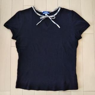 バーバリーブルーレーベル(BURBERRY BLUE LABEL)の【BURBERRY】Tシャツ  M(Tシャツ(半袖/袖なし))