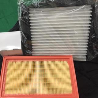 ニッサン(日産)の★ 日産 ノート エアフィルター、エアコンフィルター、オイルエレメント3 セット(メンテナンス用品)