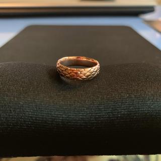 ガボール(Gabor)の✴︎極美品激レア品 harakiri赤銅スネークピンキーリング(7号)(リング(指輪))