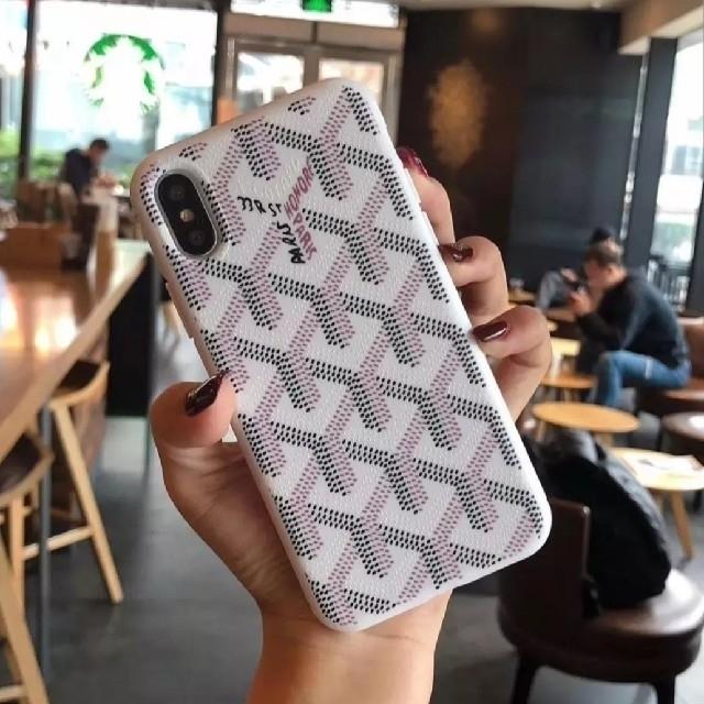 iphoneけーす - GOYARD - iPhone XS XR ケース ホワイトの通販 by raise shop|ゴヤールならラクマ