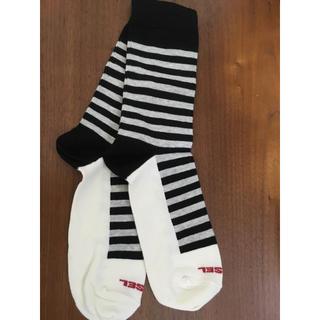ディーゼル(DIESEL)のディーゼル靴下25〜26センチ(ソックス)