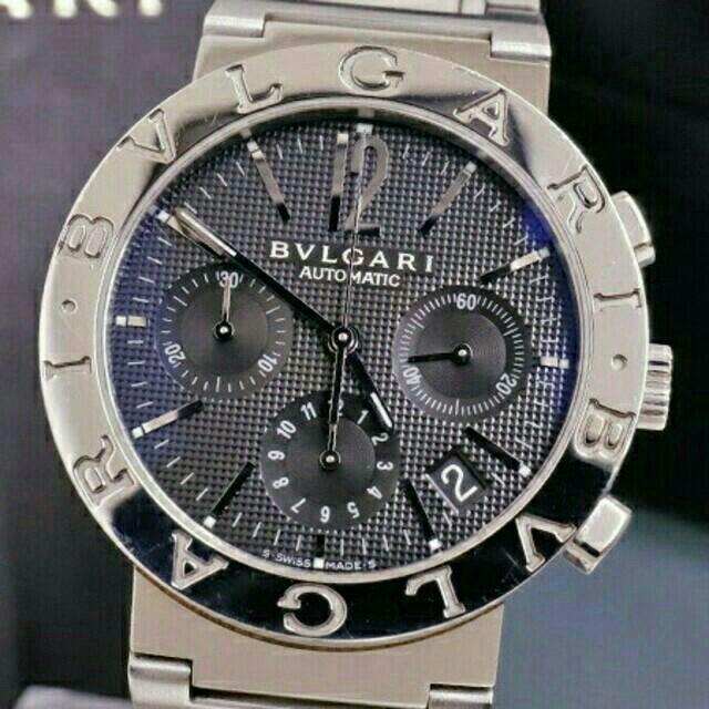 BVLGARI - ブルガリ BVLGARI メンズ腕時計 38mmの通販 by didi_593 's shop|ブルガリならラクマ