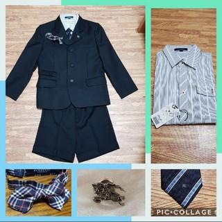 バーバリー(BURBERRY)の【新品有り】BURBERRY フォーマル スーツ 130 男の子(ドレス/フォーマル)