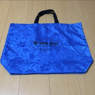 Think Bee! - Think bee! トートバッグ ブルー大