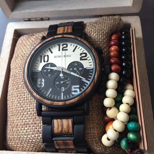 BOBO BIRD ボボバード 時計 木製 木 木目 腕時計 新品未使用の通販 by まみぃ's shop|ラクマ