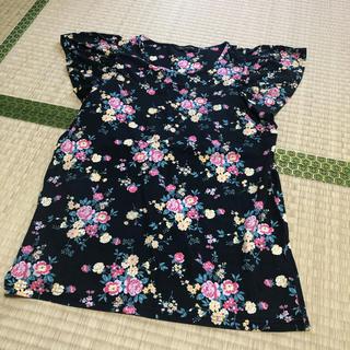 シマムラ(しまむら)のしまむら購入 花柄 トップス(カットソー(半袖/袖なし))