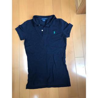 ラルフローレン(Ralph Lauren)の美品 ラルフローレン ポロシャツ XS 濃紺(ポロシャツ)