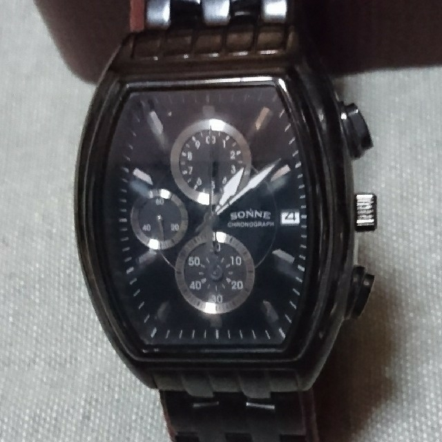 ロレックス コピー 7750搭載 、 稼働中 ゾンネ センタークロノグラフ メンズ腕時計の通販 by みゅ|ラクマ