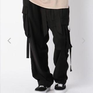 ヨウジヤマモト(Yohji Yamamoto)のtoironier カーゴパンツ 黒 ブラック(ワークパンツ/カーゴパンツ)