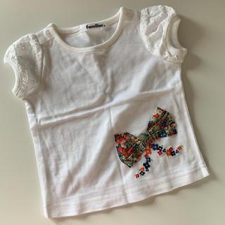ファミリア(familiar)の価格7020円 新品 familiar 80サイズ トップス。(Tシャツ)