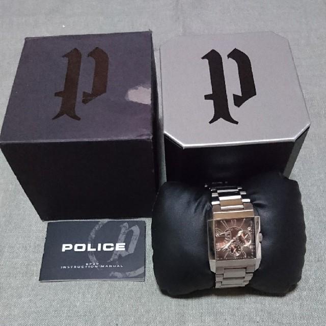 POLICE - 稼働中 ポリス サイドアベニュー ブラウンの通販 by みゅ|ポリスならラクマ