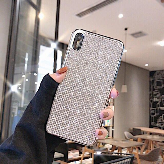 iphone7 ケース 割れ防止 - iPhoneXSMAX専用ケース キラキラカバーの通販 by セール実施中 |ラクマ