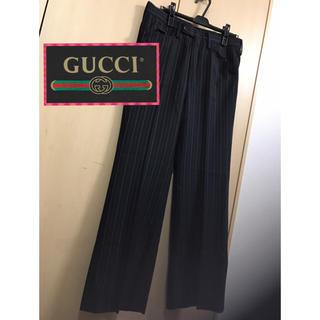 グッチ(Gucci)のGUCCI  メンズ  ストライプ  スラックス パンツ!(スラックス)