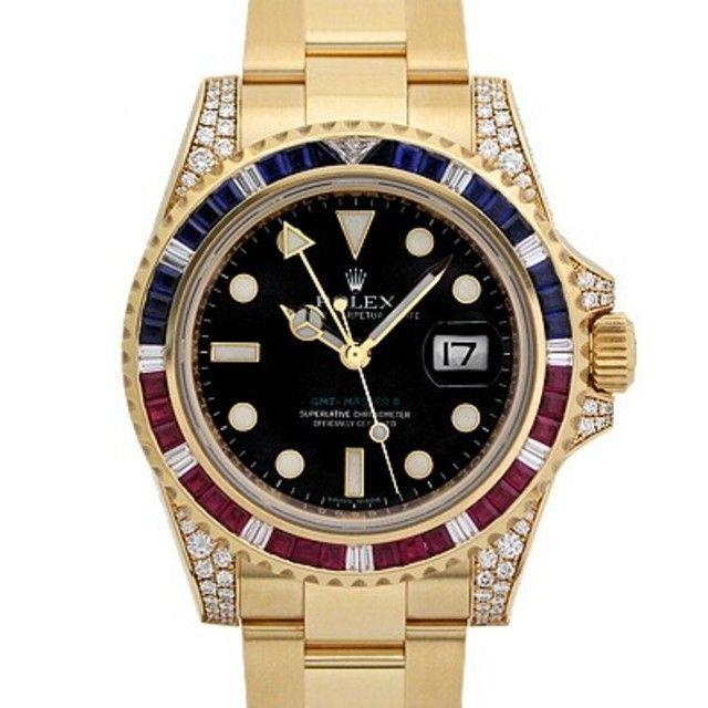 ロレックス レプリカ 国内発送 / メンズ 腕時計 GMTマスターII/116748SARUの通販 by を's shop|ラクマ