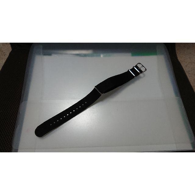新品 腕時計 ベルト NATO 20mm 黒 ナイロンの通販 by コメントする時はプロフ必読お願いします|ラクマ
