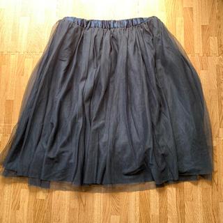 ベルメゾン(ベルメゾン)の千趣会♡ネイビー(ひざ丈スカート)