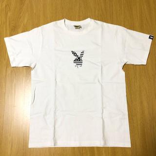 アベイシングエイプ(A BATHING APE)のape エイプ ベイプ プレイボール playboy 白 Tシャツ(Tシャツ/カットソー(半袖/袖なし))