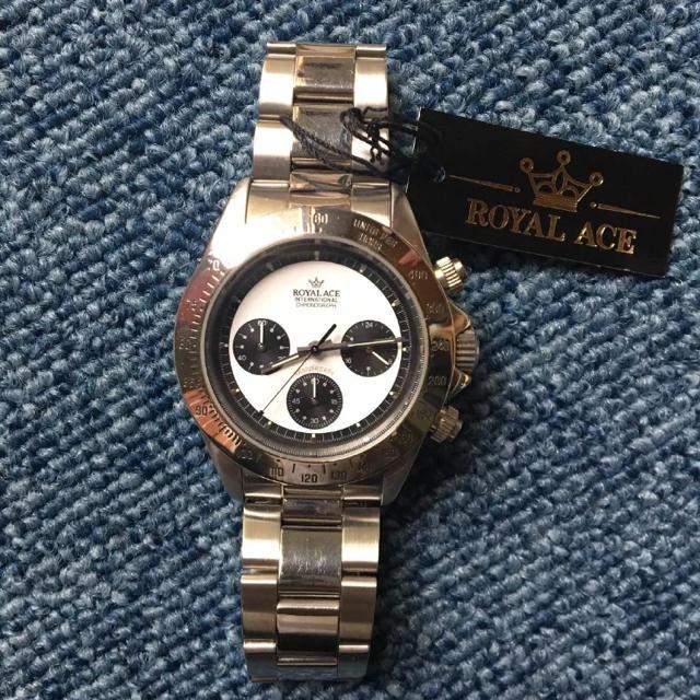 ユンハンス 時計 スーパー コピー 商品 | 腕時計 ROYAL ACEの通販 by おごた's shop|ラクマ