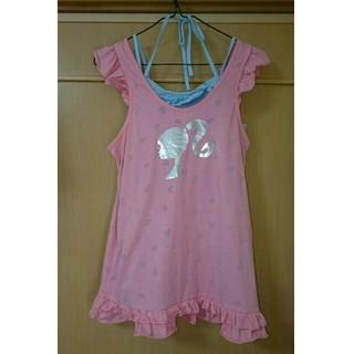 バービー(Barbie)のBarbie  バービー  ノースリーブ  Tシャツ  160(Tシャツ/カットソー)