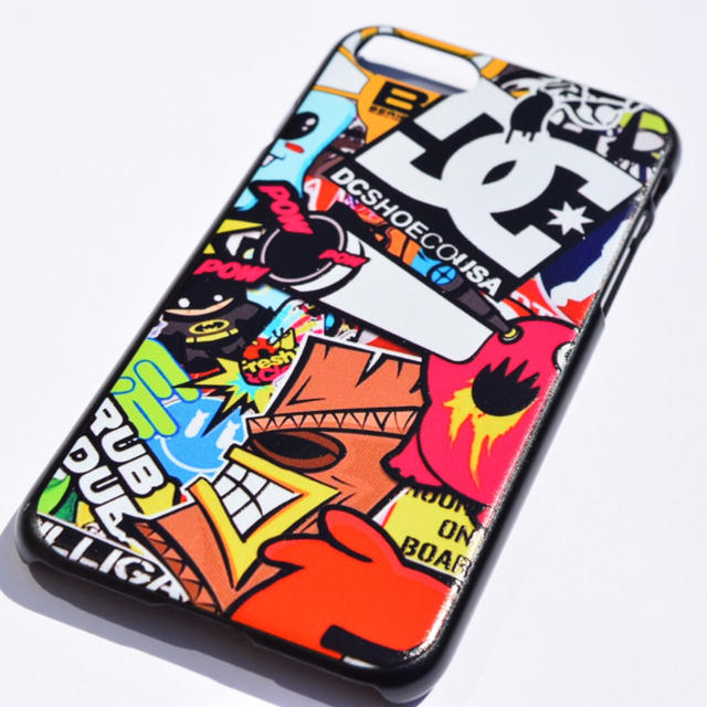 iphone x ケース 斜 めがけ / ボムステッカー iPhoneケース DC USDM JDM シュプリームの通販 by LA*TrendFashion|ラクマ