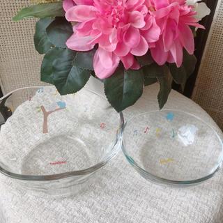 ファミリア(familiar)の【新品未使用】familiar ガラスボウル 小鉢 セット(食器)