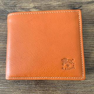 a101e5fe3344 イルビゾンテ(IL BISONTE)の新品 イルビゾンテ 二つ折財布 ヤキヌメ 純正布袋無し(
