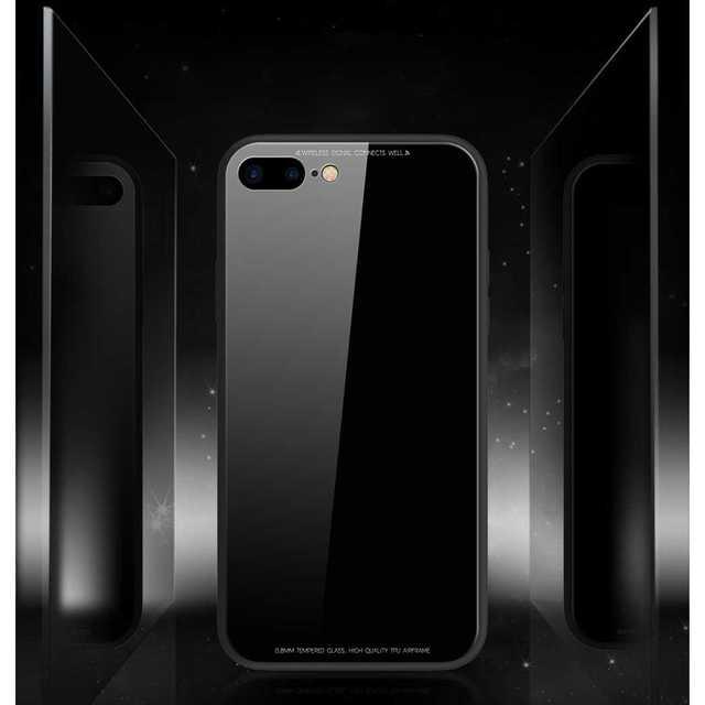 iphone xr 8 ケース - 背面ガラス iPhone8/7 ケース iPhoneケースの通販 by トシ's shop|ラクマ