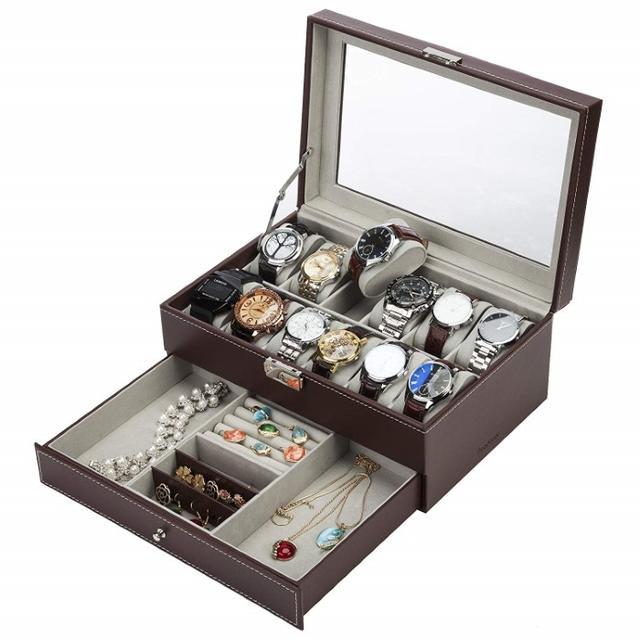★大好評★腕時計 収納ケース 12本 107の通販 by こむぎ♡ 期間限定セール中!!'s shop|ラクマ