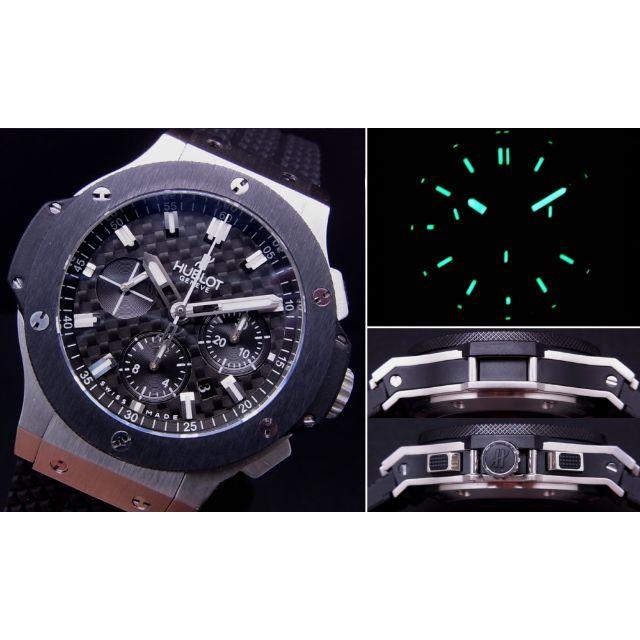 クロノスイス 時計 コピー N級品販売 - HUBLOT - H製 BIG SS 4100 Black Dial 自動巻 bar の通販 by ffr1234512345's shop|ウブロならラクマ