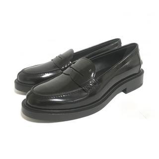 トッズ(TOD'S)のTODS トッズ  レザーローファー 35.5(ローファー/革靴)