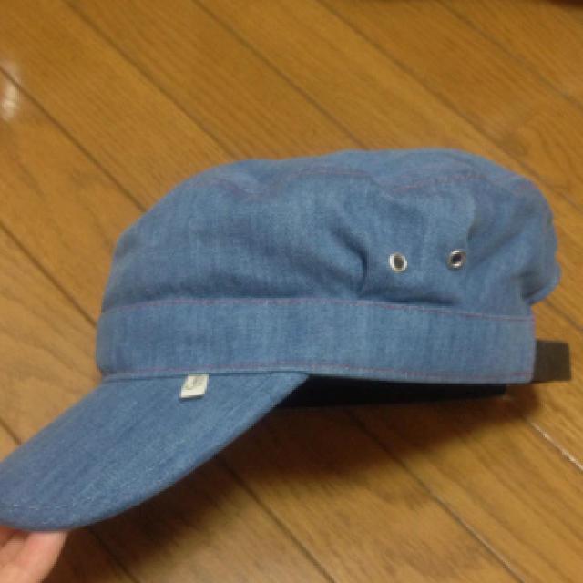 coen(コーエン)の新品今季デニムワークキャップ*coen レディースの帽子(キャップ)の商品写真