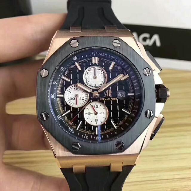 時計 偽物 ロレックス u番 | AUDEMARS PIGUET - Audemars Piguet メンズ 自動巻き 腕時計の通販 by mua|オーデマピゲならラクマ